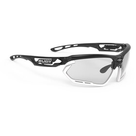 Rudy Project Fotonyk Brille crystal graphite/white/impactX 2 photochromic black